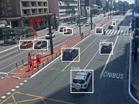 Safe social distance monitoring with Computer Vision