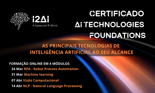I2AI Certificate: AI Technologies Foundation