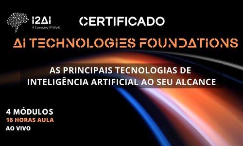 Certificado AI Technologies Foundations